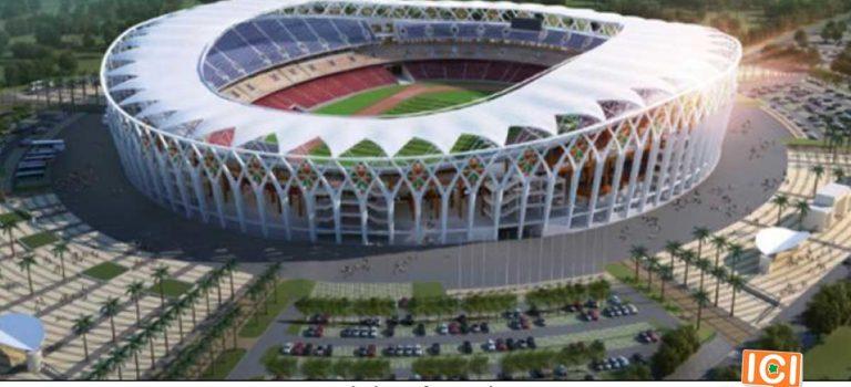 Le futur Stade Olympique d'Ebimpé