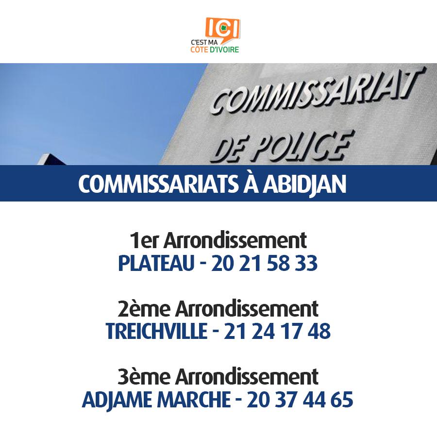 Commissariats de Police 11