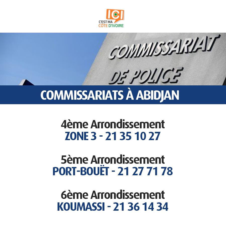 Commissariats de Police 10