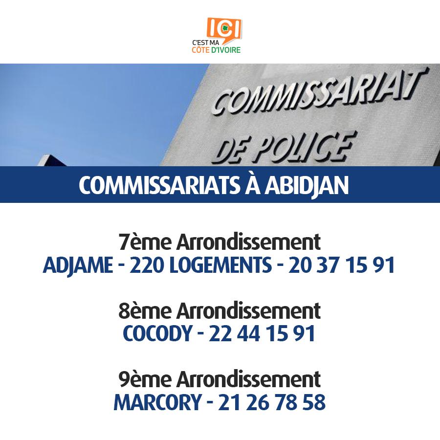 Commissariats de Police 9