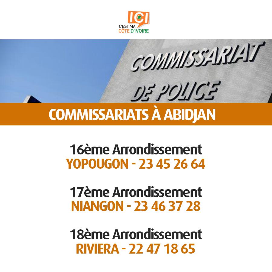 Commissariats de Police 6