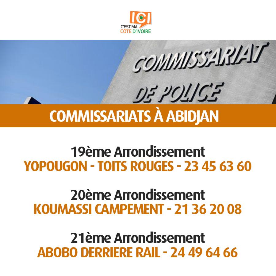 Commissariats de Police 5