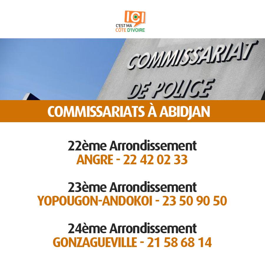 Commissariats de Police 4