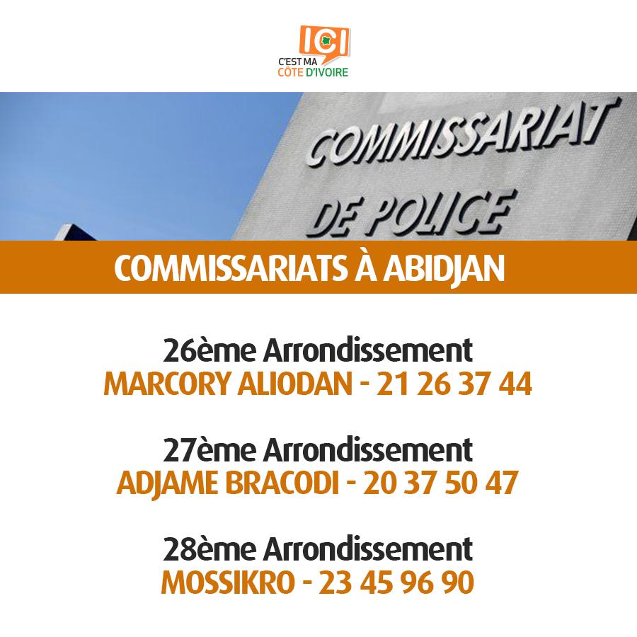 Commissariats de Police 3