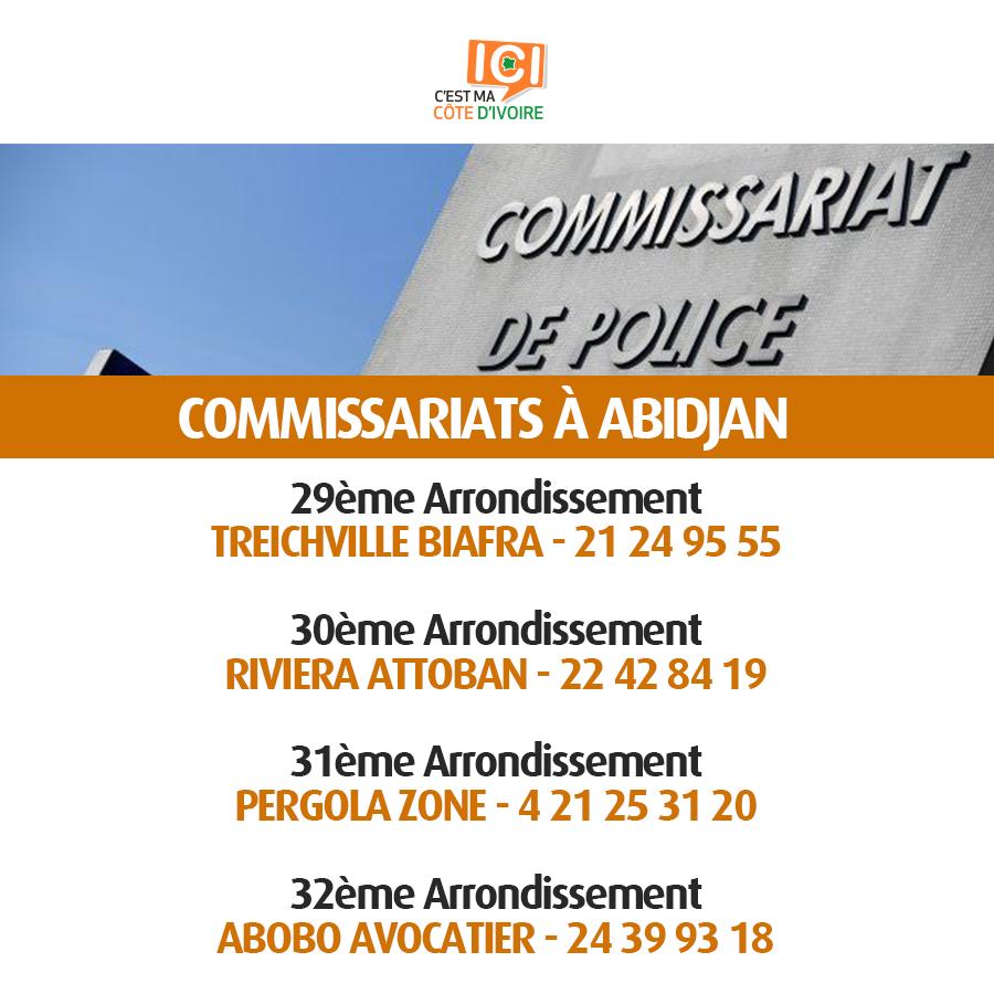 Commissariats de Police 2