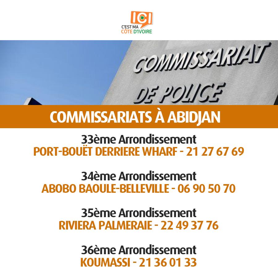 Commissariats de Police 1